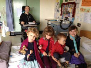 Ariel, Alice, Keira, Luka and Lara