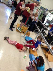 Rehab gym in the school holidays